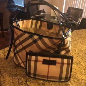 Authentic Burberry medium tote bag